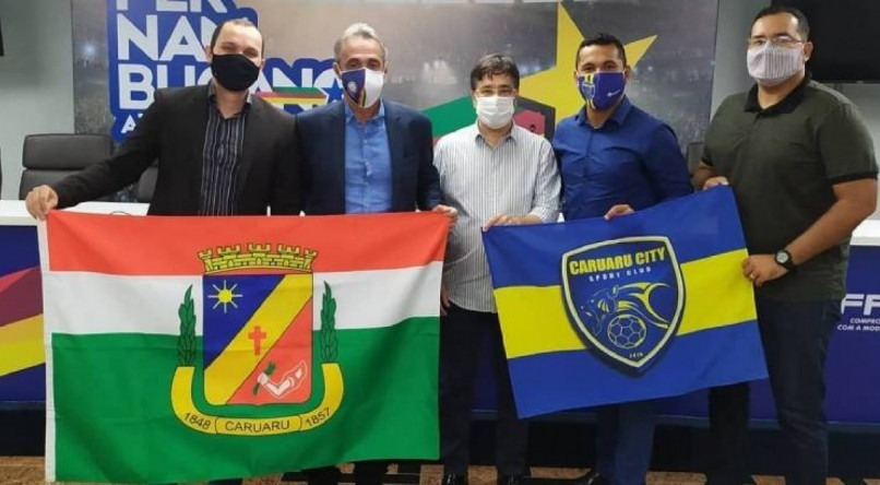 Caruaru City é o mais novo clube profissional de Pernambuco