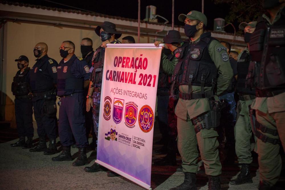 Defesa Social divulga balanço positivo da Operação Carnaval 2021