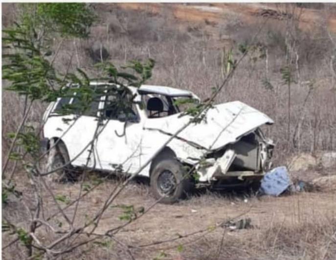 Acidente deixa duas crianças mortas e mulher grávida ferida em Alcantil, na Paraíba