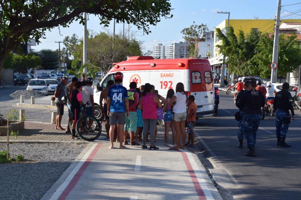 Acidente é registrado em cruzamento da 29 de Dezembro, em Santa Cruz do Capibaribe