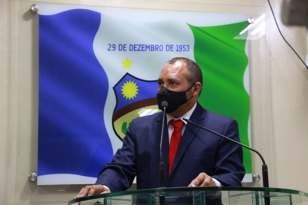"""""""Quero honrar cada voto oque recebi"""", diz Vando da Sertec em primeiro discurso"""