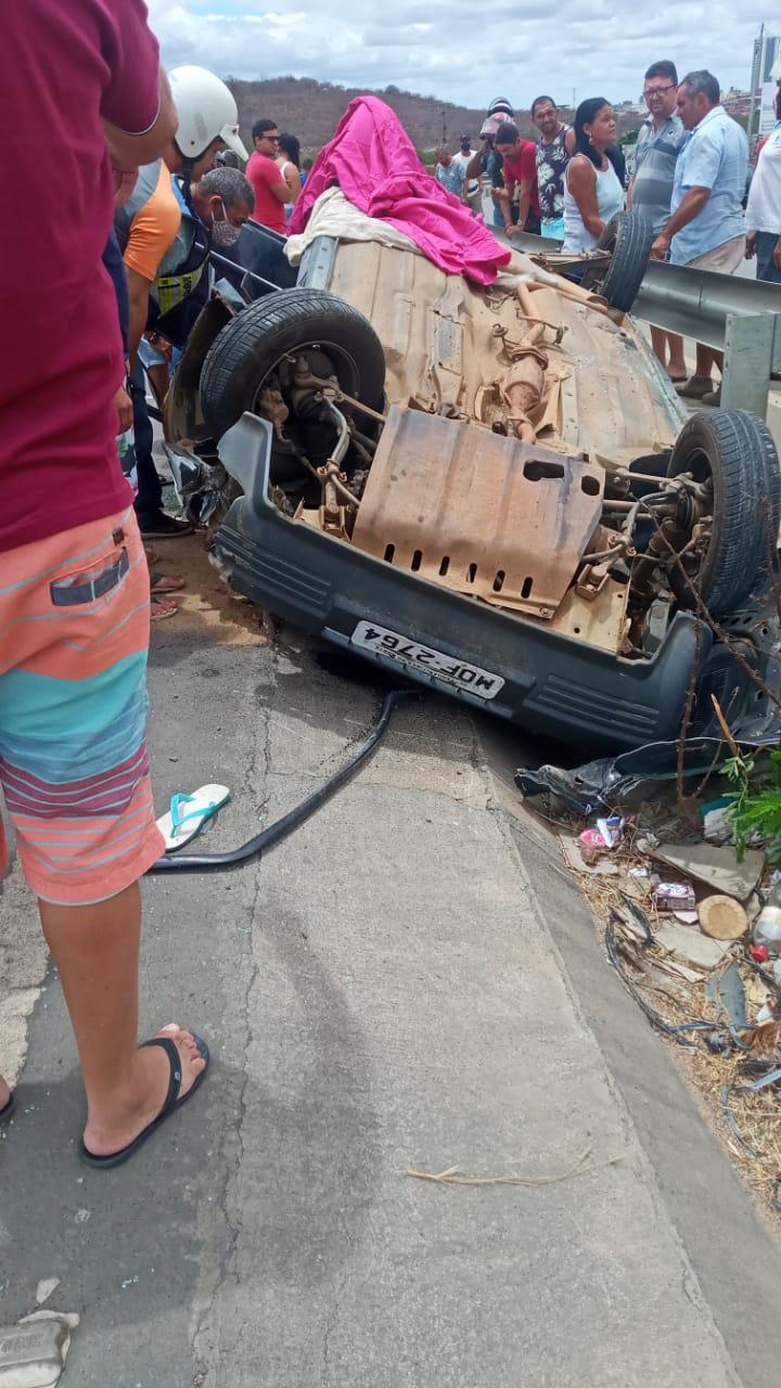 Grave acidente deixa vítima fatal em Santa Cruz do Capibaribe