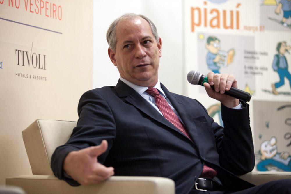 PDT quer Ciro Gomes candidato ao cargo de presidente em 2022