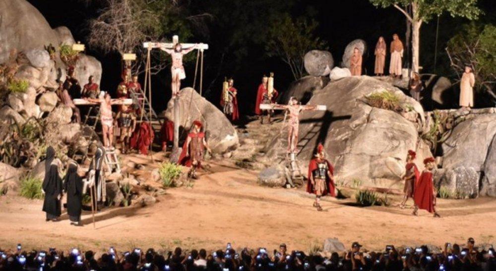 Paixão de Cristo de Nova Jerusalém é adiada para 2022