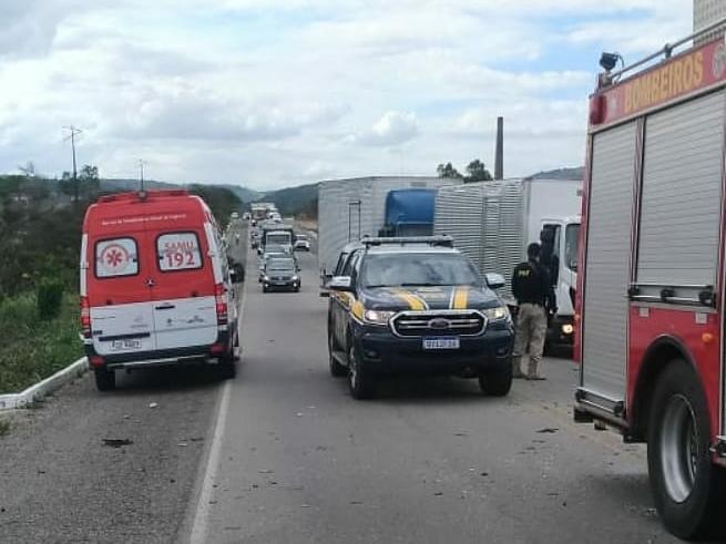 Acidentes deixam duas pessoas mortas em Agrestina