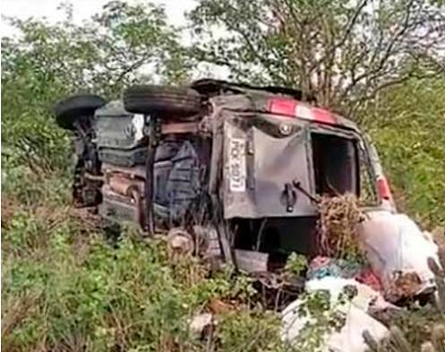 Acidente deixa mulher morta em Jataúba