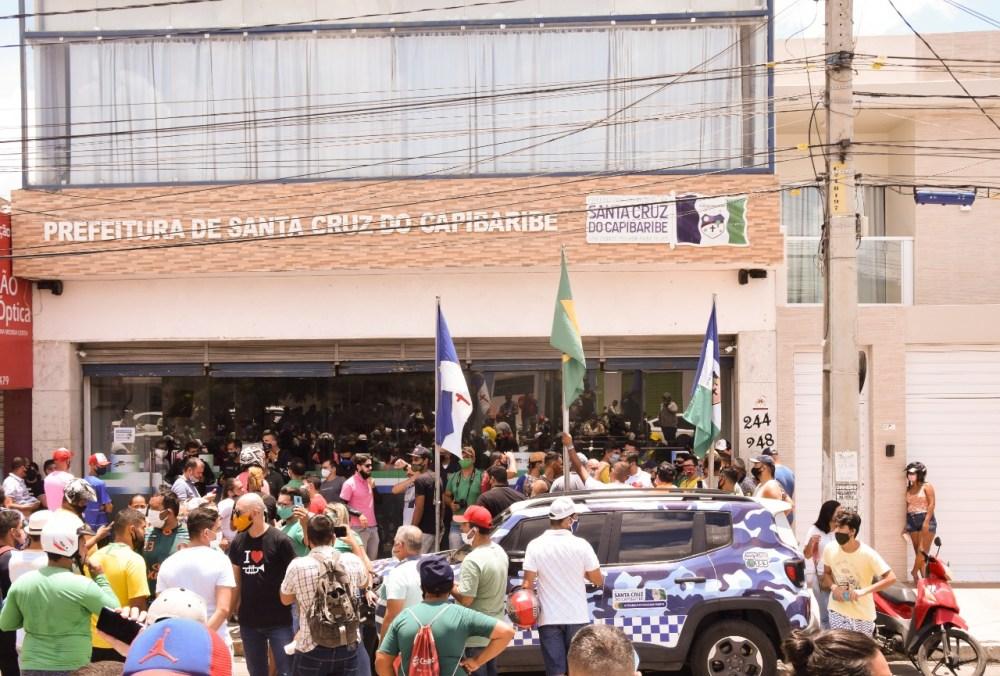 SINDUPROM repudia discurso em protesto que acusou professores de 'vadiagem' durante a pandemia