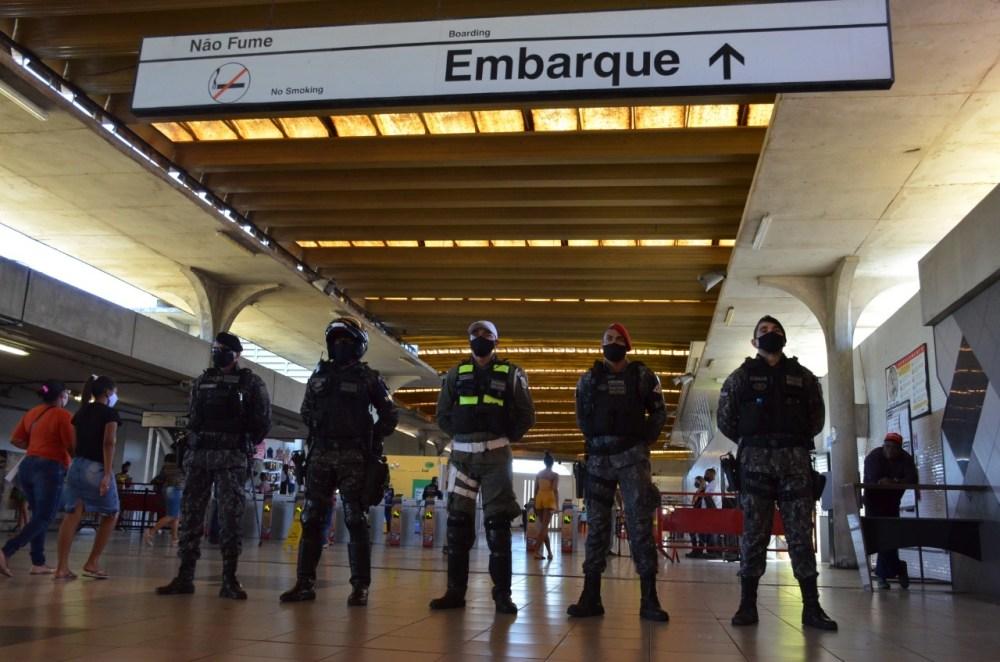 4.990 agentes de segurança são direcionados para o cumprimento de decreto em Pernambuco