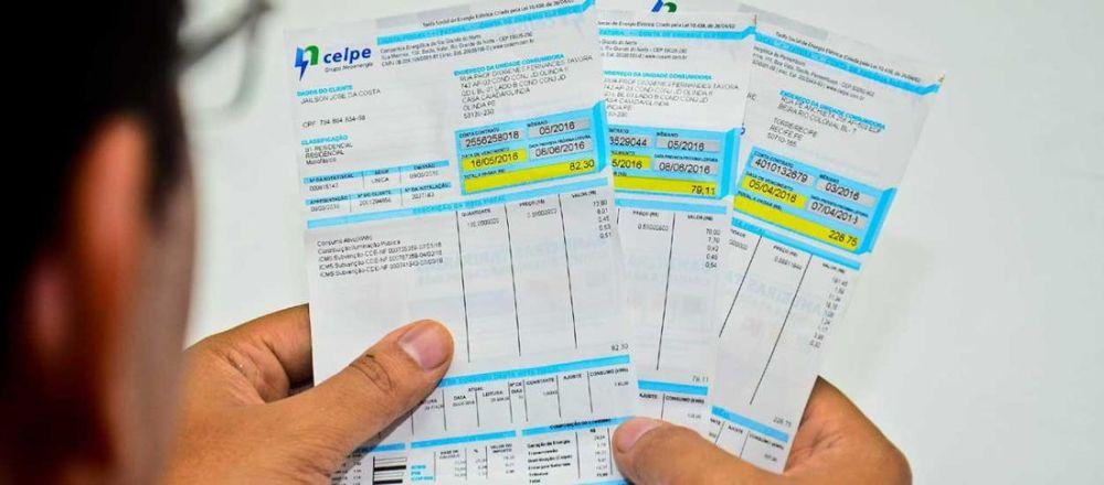 Aneel aprova reajuste médio de 8,99% na conta de energia de clientes da Celpe