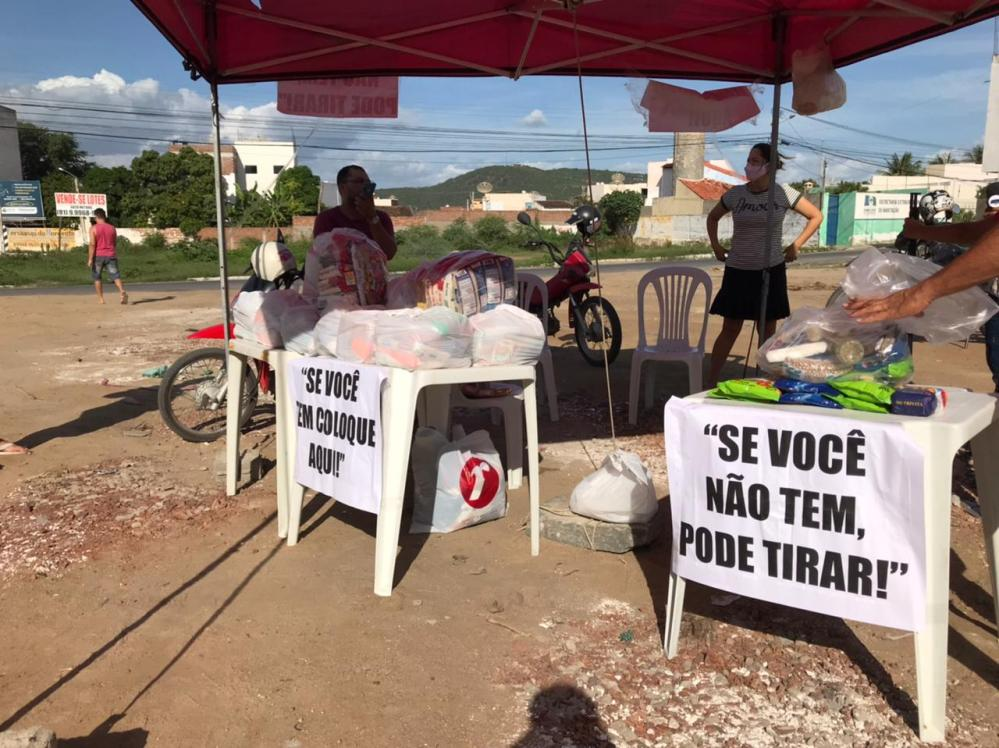 Homem toma iniciativa e mobiliza campanha contra a fome em Santa Cruz do Capibaribe