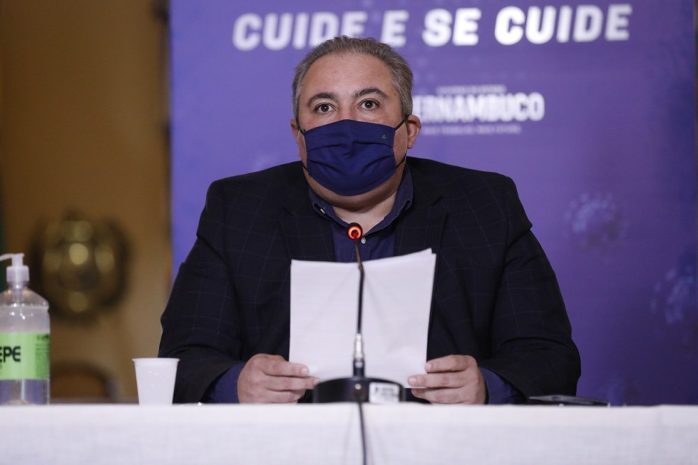 Governo de Pernambuco prorroga medidas restritivas no estado por mais 15 dias