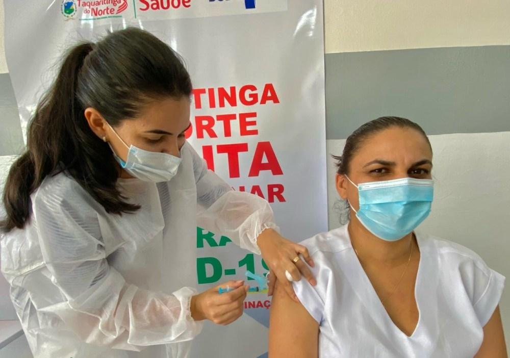Taquaritinga do Norte segue com cronograma de vacinação contra Covid-19