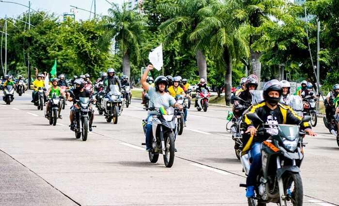 Apoiadores de Jair Bolsonaro vão promover motorriata em Santa Cruz do Capibaribe