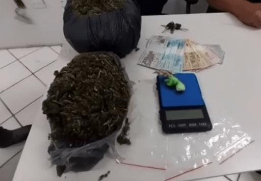 Adolescente é detido com 1,5 kg de maconha em Santa Cruz do Capibaribe