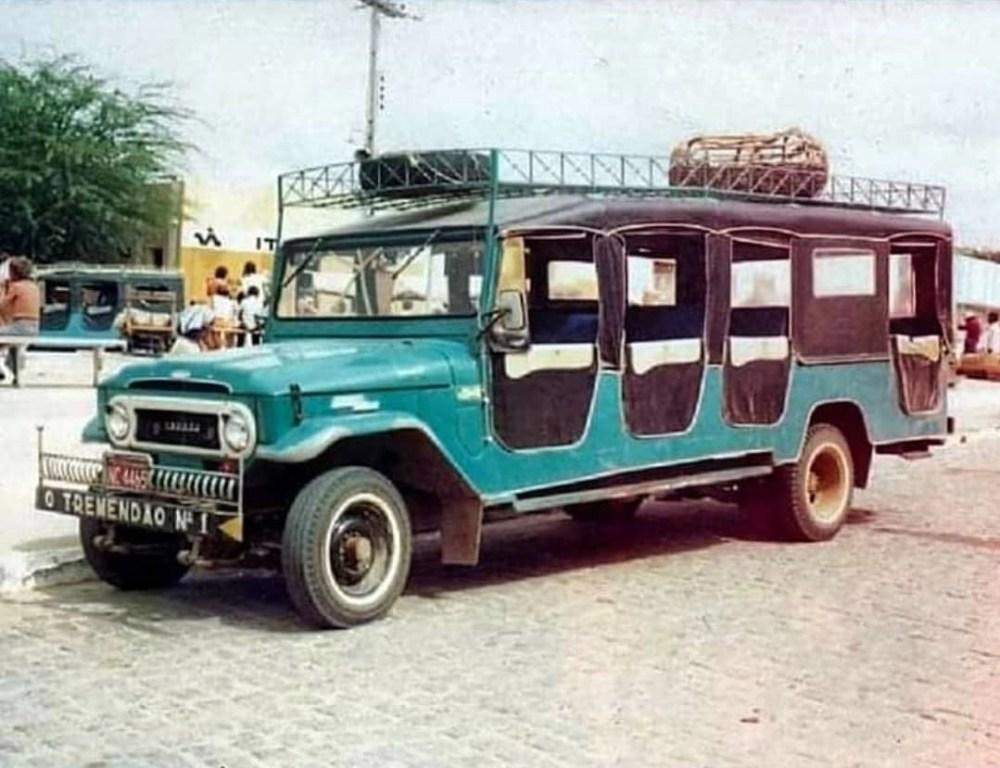 História e tradição: Antes do surgimento de carros modernos, 'Tremendão' era objeto de desejo em Santa Cruz do Capibaribe