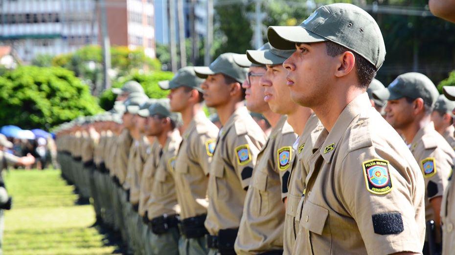 Pernambuco terá o reforço de 750 soldados da Polícia Militar no início de 2022
