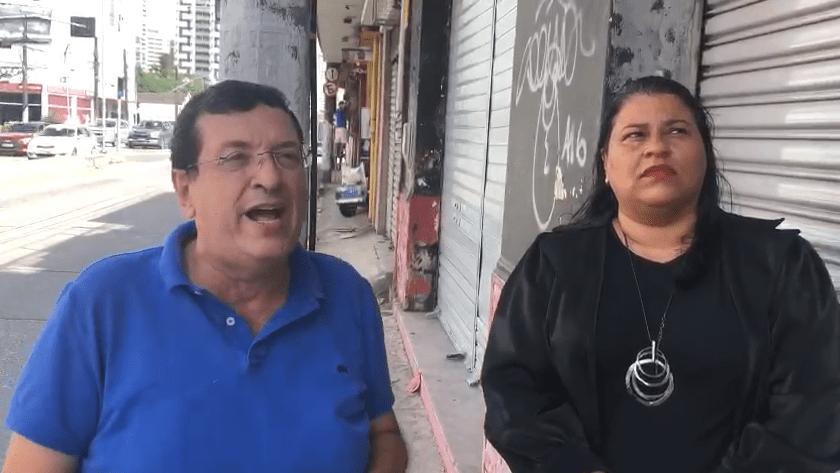 Jéssyca e Ernesto realizam denúncia contra locação de UTI Móvel por parte da prefeitura de Santa Cruz do Capibaribe