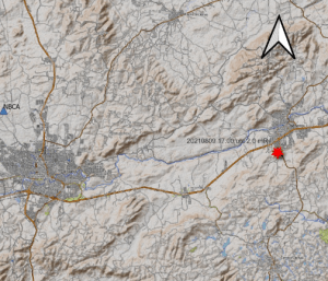 Tremor de terra é registrado no município de Bezerros