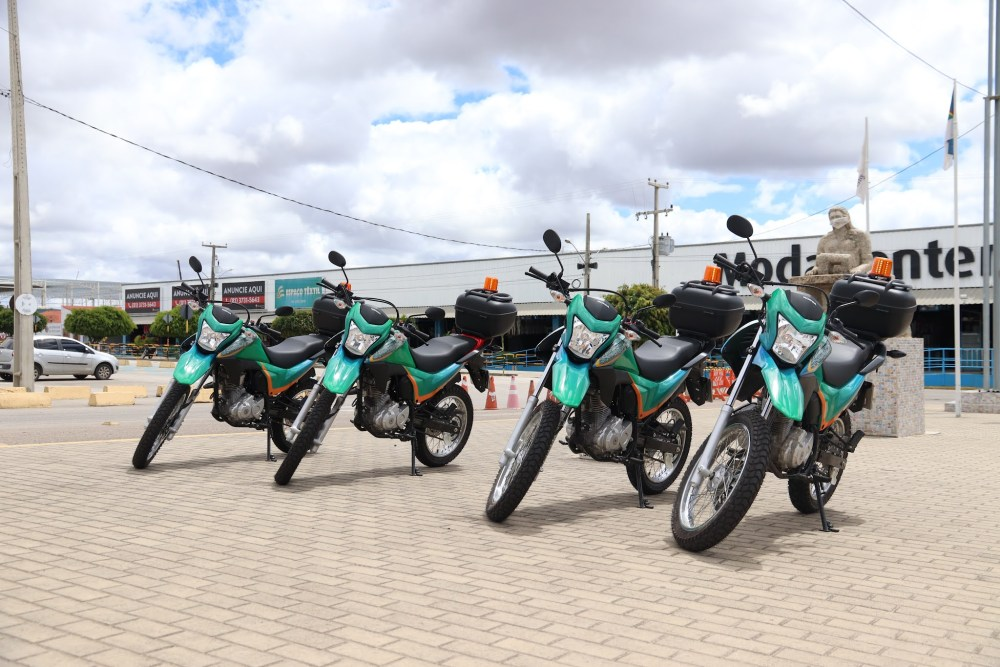 Moda Center reforça segurança interna com aquisição de quatro motos novas