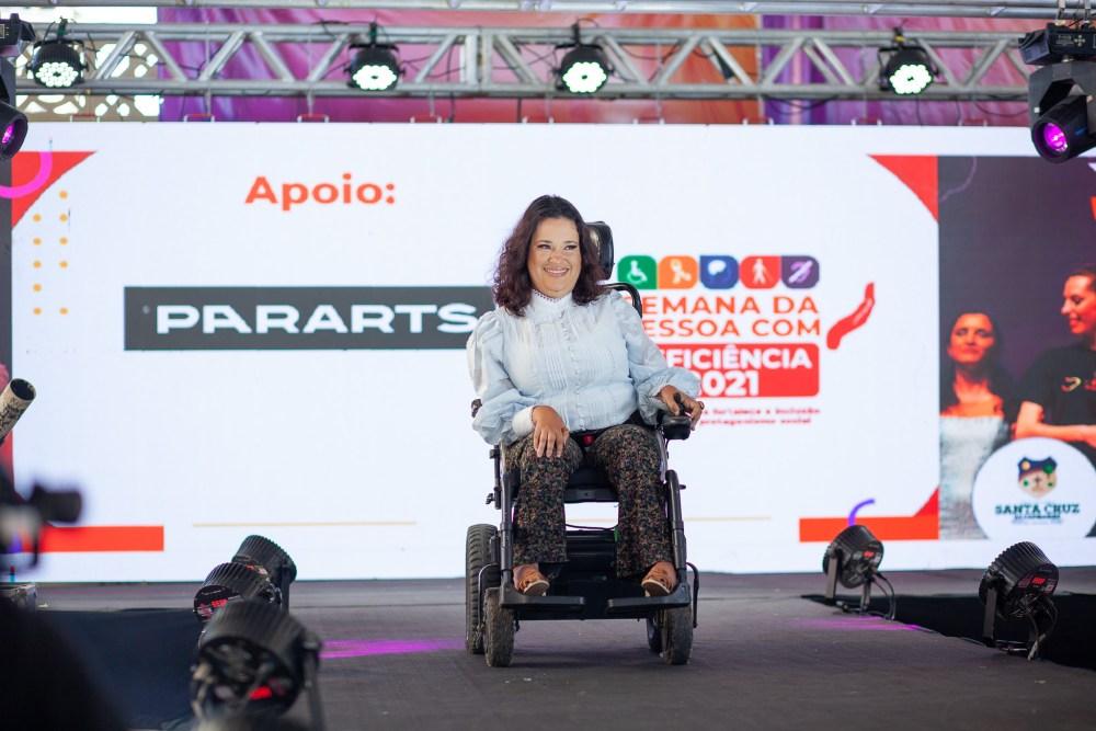 Santa Cruz realiza seu primeiro desfile de moda para pessoas com deficiência
