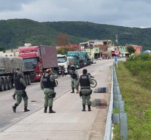 Policial militar morre após ser baleado por grupo criminoso na BR-232, em Arcoverde