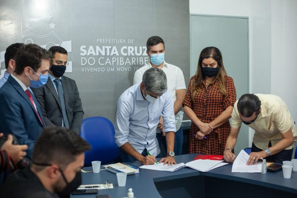 Santa Cruz do Capibaribe adere ao projeto Cidade Pacífica