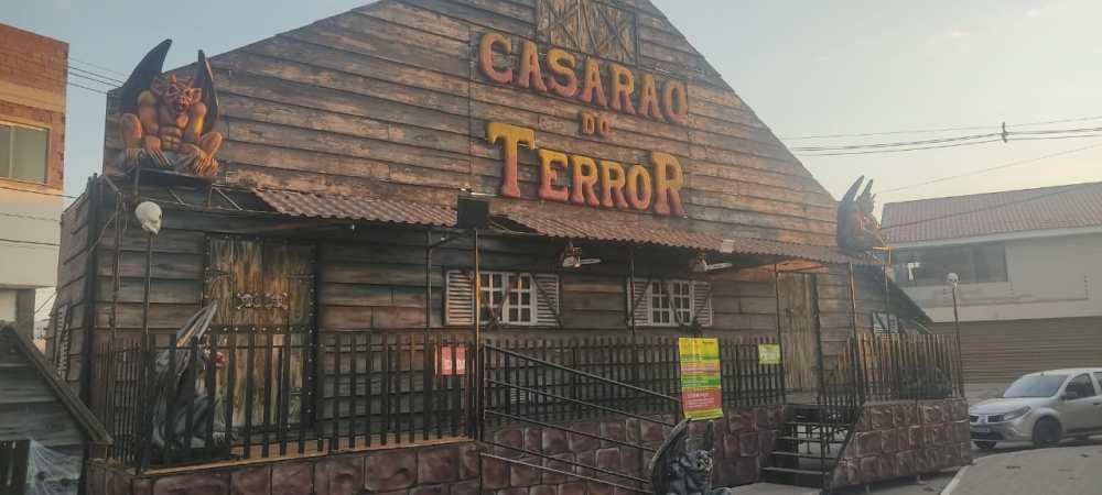 """Incidente é registrado em atração """"Casarão do Terror"""", em Santa Cruz do Capibaribe"""