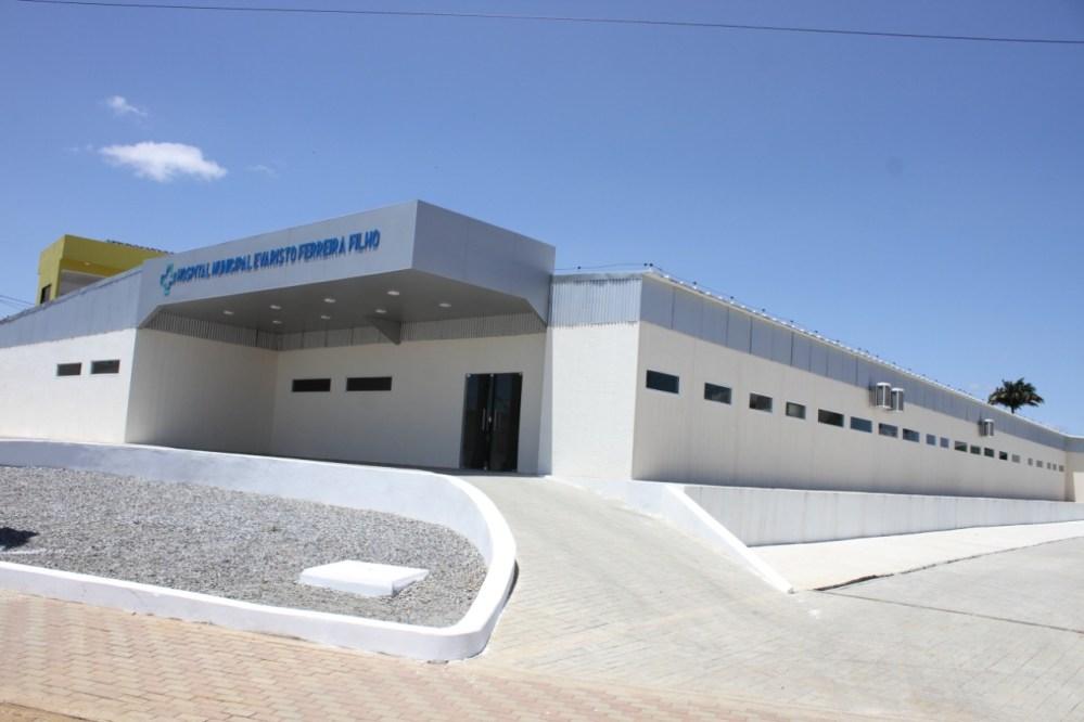 Em Vertentes, Hospital Municipal Evaristo Ferreira Filho será inaugurado neste sábado (11)