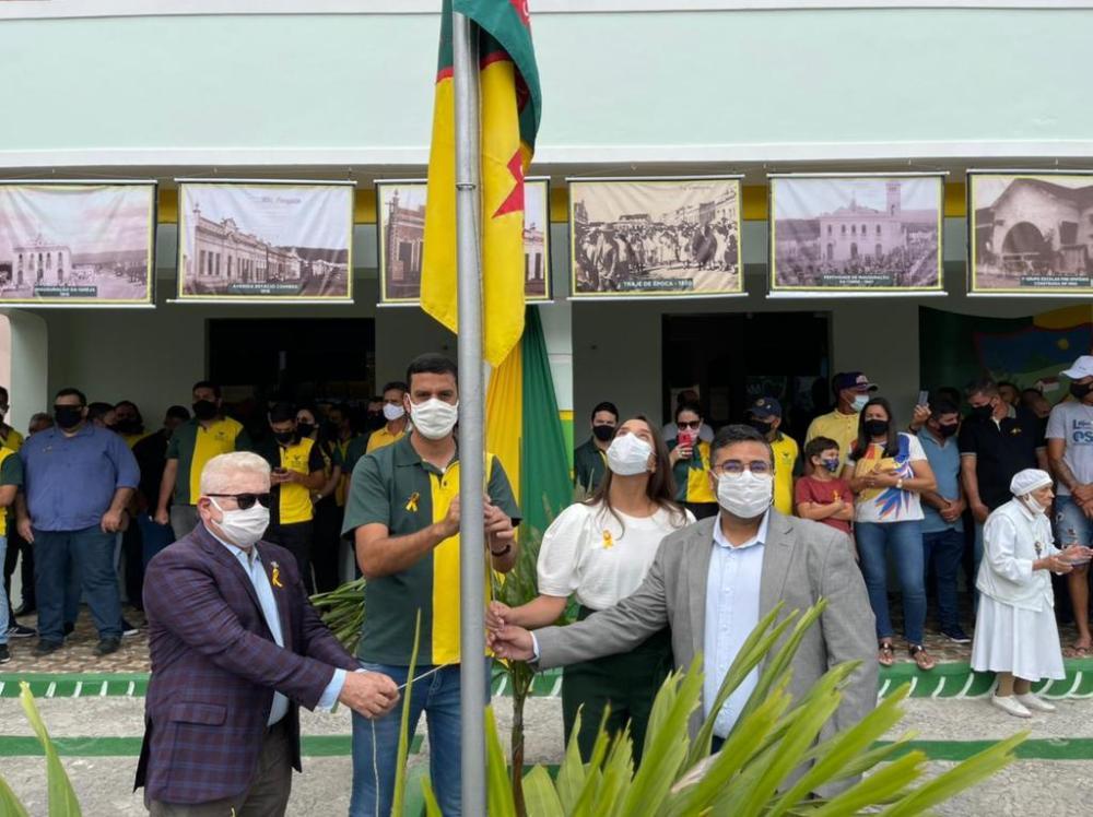 Raquel Lyra participa de programação de aniversário decidades governadas pelo PSDB