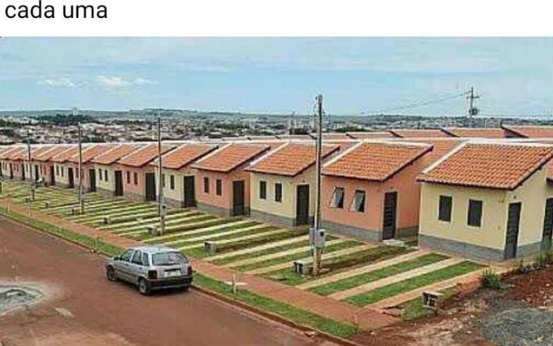 Pessoas tentam comercializar irregularmente casas do Loteamento Cruzeiro em grupos do Facebook