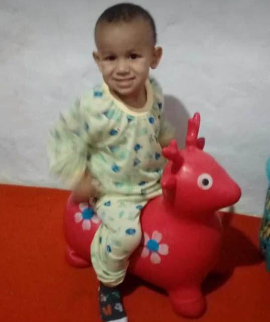 Menino de 2 anos morre afogado na cidade de Bonito-PE