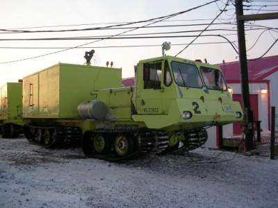 Foremost Cheiftain, novamente um caminhão de bombeiros. Este é usado em campos de pouso.