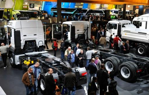 A eficiência foi o tema do Salão Europeu de Veículos Comerciais da Alemanha e as marcas realçaram seu papel de estarem comprometidas com a sustentabilidade