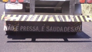 Frases De Parachoque Blog Do Caminhoneiro