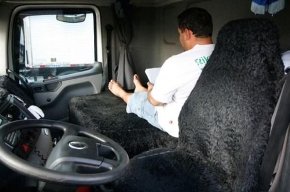 lei do descanso - motorista