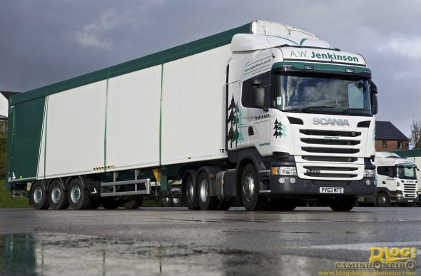 A.W. Jenkinson Forest Products - Scania Euro 6