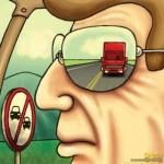Blog do Caminhoneiro - Caricatura