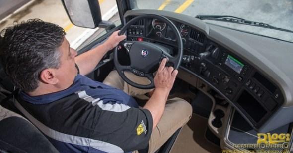ergonomia ao volante