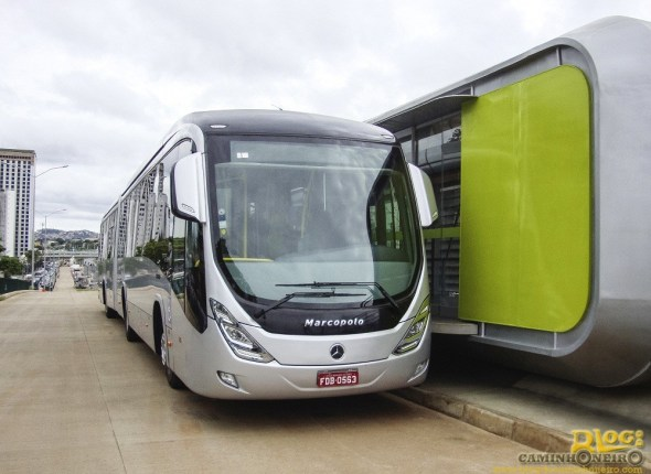 Onibus Mercedes-Benz - Marcopolo Viale BRT