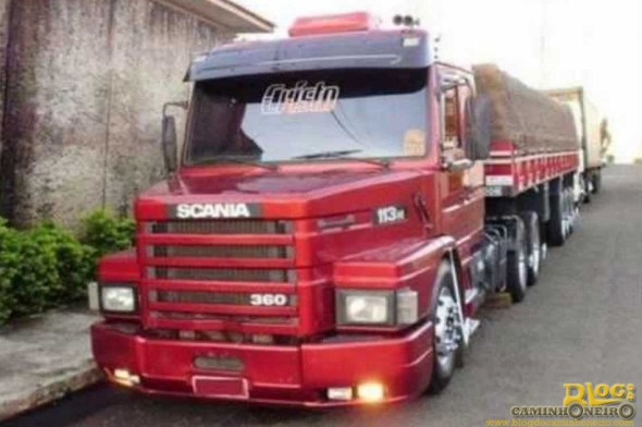 Scania 113H top