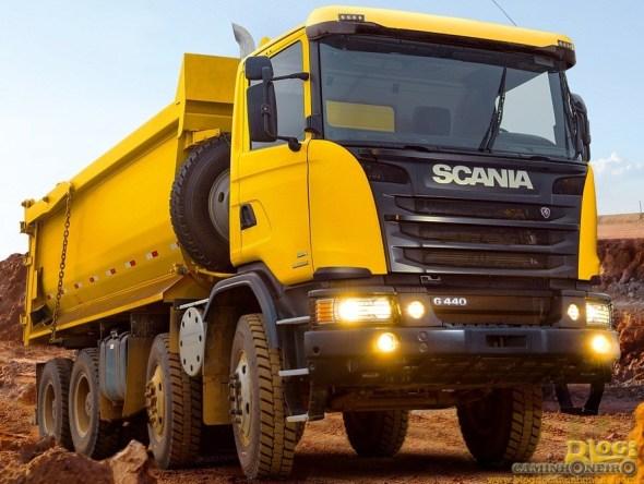 Scania G 440 8x4