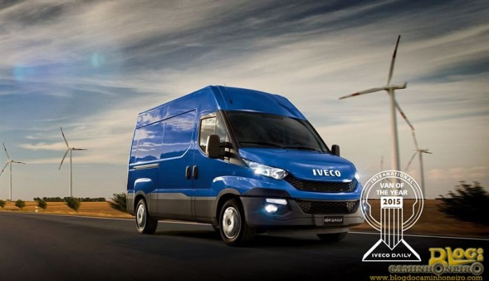 Iveco Daily - Van Of The Year 2015