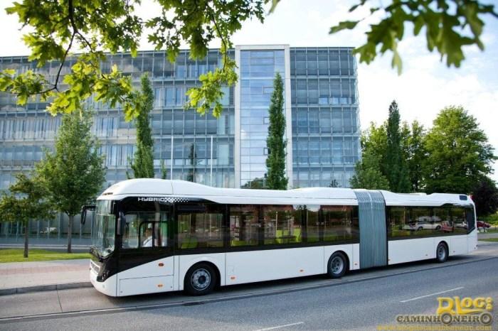 Onibus Hibrido Volvo - Articulado