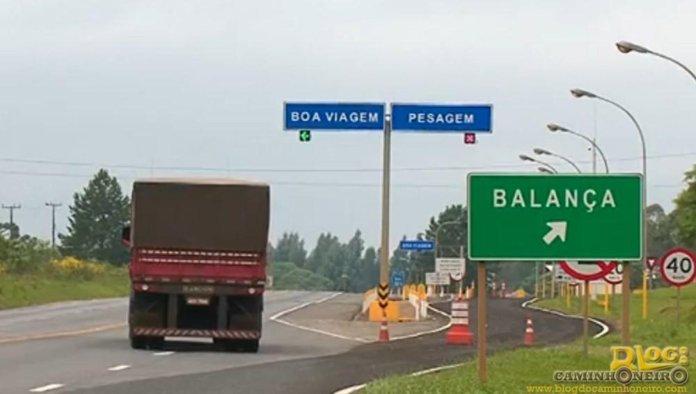 Falha em balanças gera multa para caminhoneiros