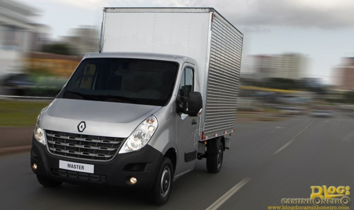 Renault Master Chassi Cabine