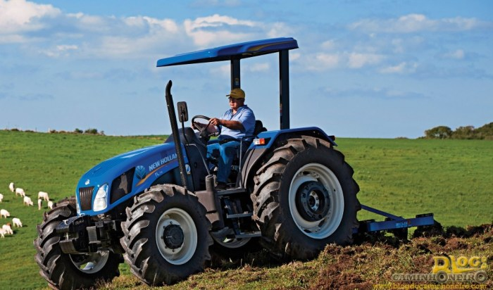 trator new holland tl75