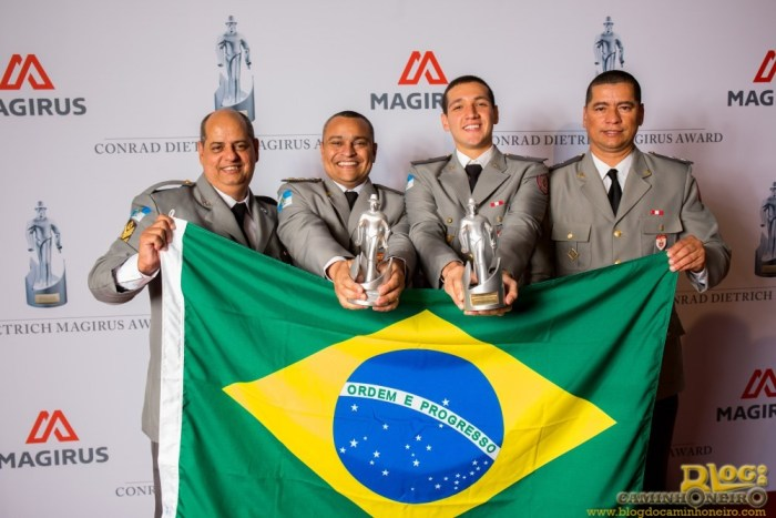 The Rio de Janiero Fire Deparment winners of the 2014 Conrad Dietrich Magirus Award