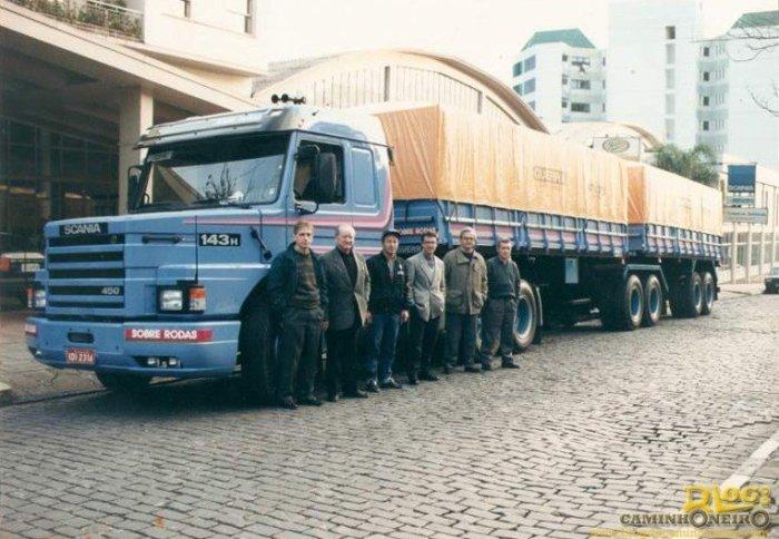 Scania 143h 450 com Bitrem Guerra já homologado para vendas!
