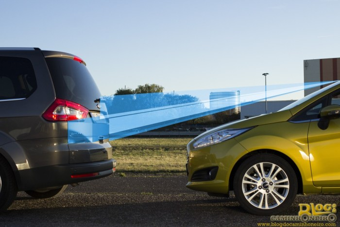 New Ford Fiesta 'Active City Stop' Safety Tech captures and processes 15 images in the blink of an eye. (11/05/2012)