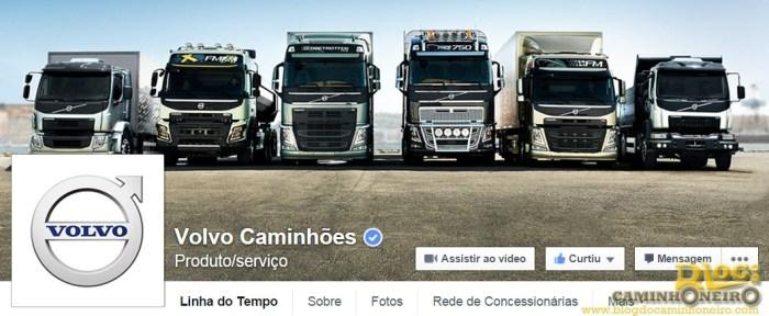 pagina volvo caminhoes facebook